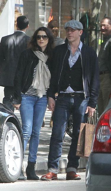 Daniel Craig y Rachel Weisz, 'amour' en París
