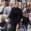 Los niños de Angelina Jolie y Brad Pitt, fans nº1 de su mamá en el estreno de 'Kung Fu Panda 2' en Hollywood