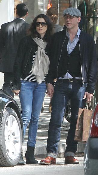 Rachel Weisz y Daniel Craig se han casado en secreto