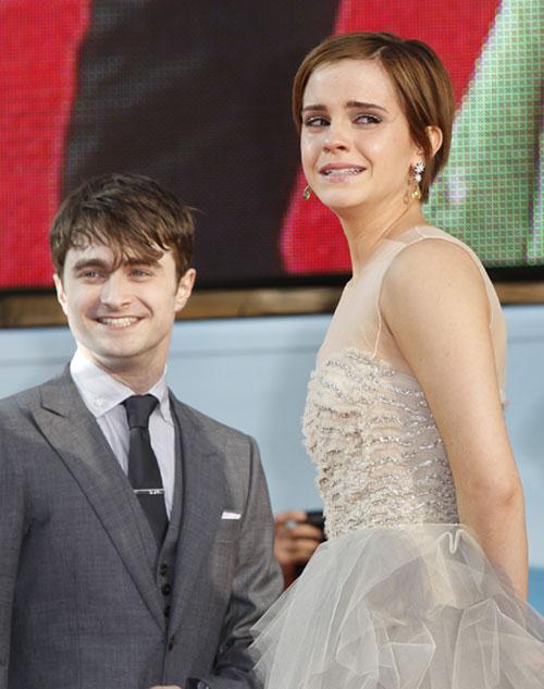 Lágrimas y emoción en el adiós a Harry Potter
