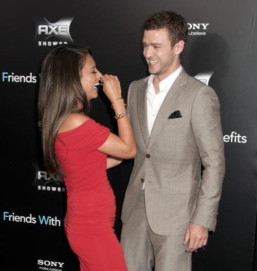 Amigos con Beneficios: Mila Kunis defendió a Justin