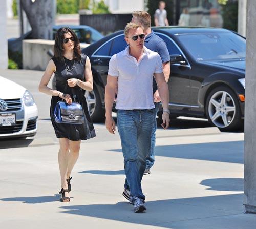 Daniel Craig y Rachel Weisz, la primera imagen de los recién casados