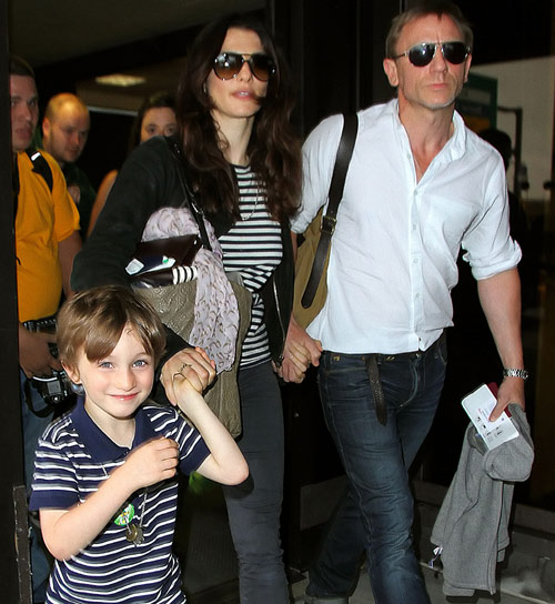 Rachel Weisz y Daniel Craig viven su primer verano de casados compaginando trabajo y familia