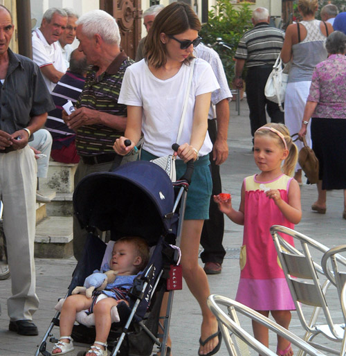 Sofía Coppola se relaja en familia días antes de su boda con Thomas Mars