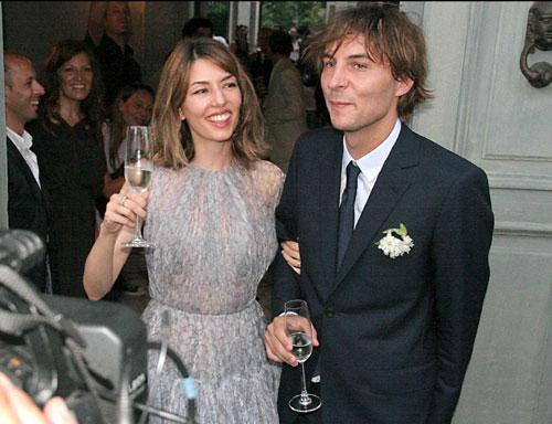La boda íntima de Sofía Coppola y Thomas Mars, envuelta en tradiciones locales italianas