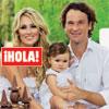 Exclusiva en ¡Hola!: Carolina Cerezuela y Carlos Moyá nos reciben en su casa de Mallorca con motivo del primer cumpleaños de su hija, Carla