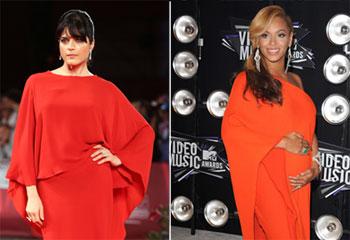 Selma Blair, una recién estrenada mamá, 'copia' el estilismo a una embarazada Beyoncé