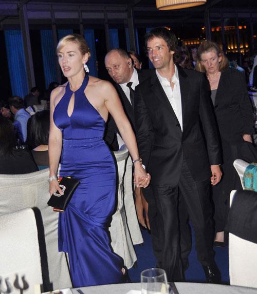 Kate Winslet hace público su noviazgo con Ned Abel Smith, el sobrino de Richard Branson