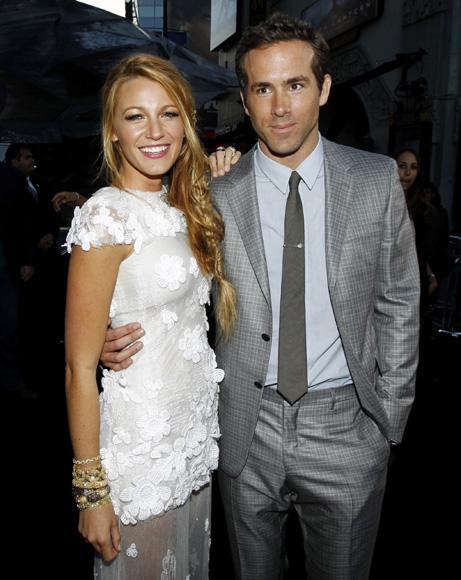 Blake Lively, protagonista de 'Gossip Girl', y Ryan Reynolds, ¿la nueva pareja de moda?