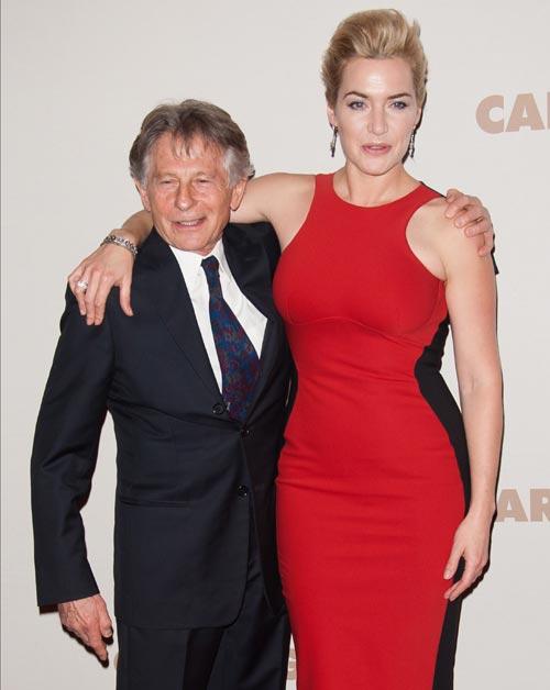 Kate Winslet, espectacular y de la mano de su novio, Ned Abel Smith, en el estreno en París de 'Un dios salvaje'
