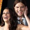 Muy sonriente y coqueteando con Lea Michele: nueva película y nueva vida para Ashton Kutcher tras su divorcio de Demi Moore