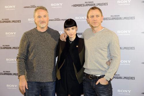Daniel Craig llega a Madrid con la adaptación americana de la saga Millennium: 'No me importó nada que hubiera una versión anterior'