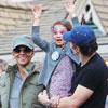 Halle Berry, Olivier Martínez, y Nahla: el retrato de una familia feliz en Disneyland