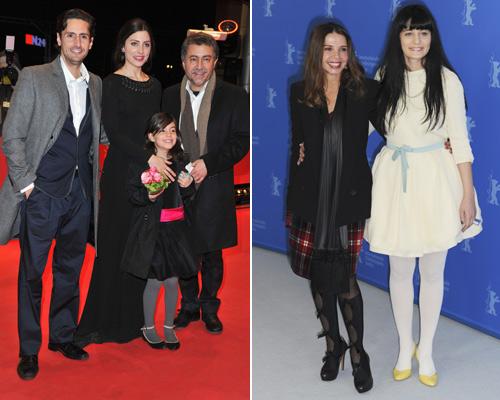 Juan Diego Botto, Bárbara Lennie y Victoria Abril