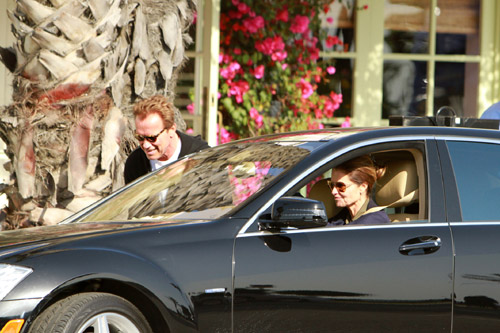¿Acercamiento? ¿reconciliación? o ¿amistad?... Arnold Schwarzenegger y María Shriver disfrutan de un almuerzo juntos
