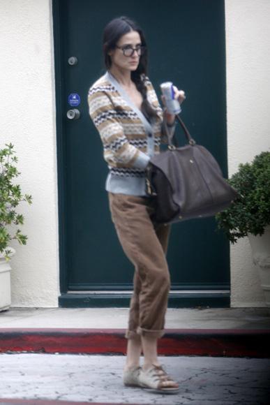 Demi Moore vuelve a casa para retomar las riendas de su vida