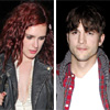 Ashton Kutcher apoya a Rumer Willis, hija de Demi Moore, en su nueva faceta como cantante
