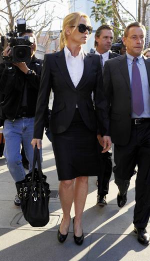 Nicollette Sheridan juicio