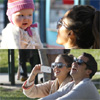 Jessica Alba y la imagen perfecta de una familia feliz