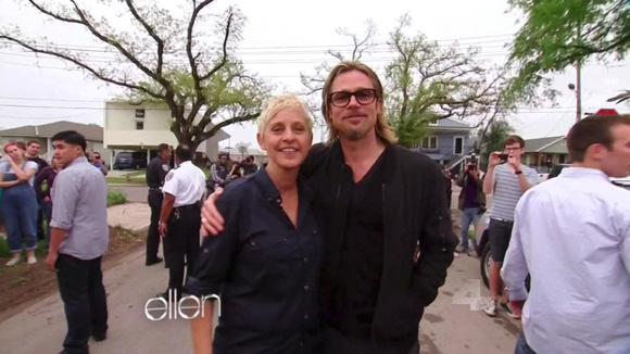 Siete años después del huracán Katrina, Brad Pitt continúa con su incansable labor humanitaria en Nueva Orleans