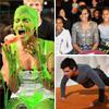 El 'glamour' de una primera dama, el 'baño' de Halle Berry, las flexiones de Taylor Lautner... Las mejores anécdotas de los premios Kids' Choice