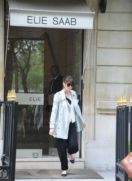 Bonjour, Paris! Jessica Biel, ¿en busca del vestido de novia de sus sueños?