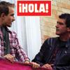 En ¡HOLA!:Jesse Johnson junto a Hiba Abouk en la Semana Santa de Málaga