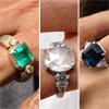 Los anillos de compromiso que deslumbran en Hollywood
