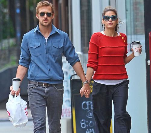 Eva Mendes y Ryan Gosling zanjan los rumores de ruptura con un paseo romántico por Nueva York