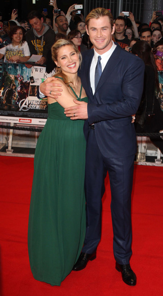 Primicia mundial: Elsa Pataky y Chris Hemsworth han sido papás de una niña, India Rose