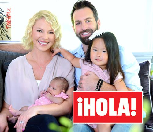 En ¡HOLA!: Katherine Heigl nos presenta a su hija Addey