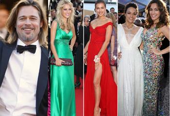 Y Cannes... cayó rendido a los pies de Brad Pitt