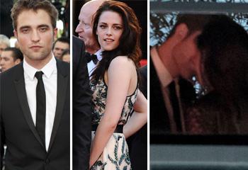 Robert Pattinson y Kristen Stewart posan por separado en Cannes, pero luego...