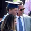 Arnold Schwarzenegger y María Shriver, sin rastro de sus problemas del pasado, en la graduación de su hijo Patrick