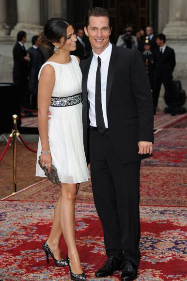 Matthew McConaughey y Camila Alves se han dado el 'sí, quiero'