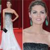 Amaia Salamanca comparte alfombra roja con el príncipe Alberto de Mónaco