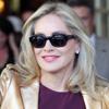 Museos, restaurantes y platós de televisión, Sharon Stone no pasa desapercibida durante su paso por Madrid