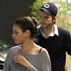 ¿Algo más que amigos? Ashton Kutcher y Mila Kunis pasan cada vez más tiempo juntos
