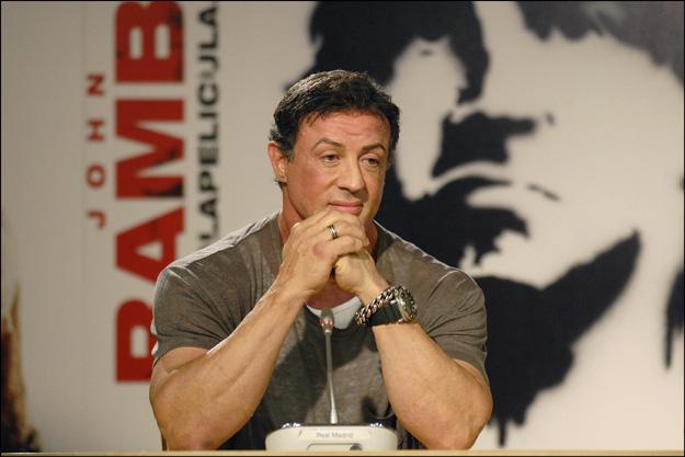 Sylvester Stallone, desolado por la inesperada muerte de su hijo Sage
