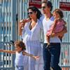 Matthew McConaughey y Camila Alves, luna de miel en familia