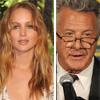 Dustin Hoffman y Jennifer Lawrence, la leyenda y la promesa del cine, comparten mantel