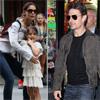 Tom Cruise deberá pagar a Katie Holmes 27.000 euros al mes por la manutención de Suri