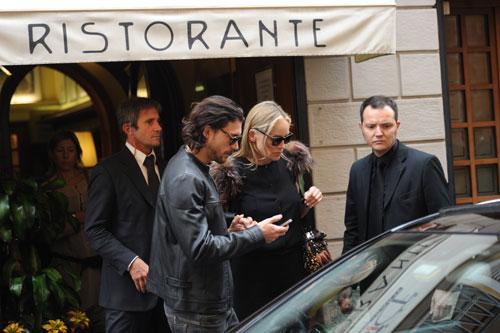 Se quedó en un susto: Sharon Stone, ingresada durante unas horas en un hospital de Milán