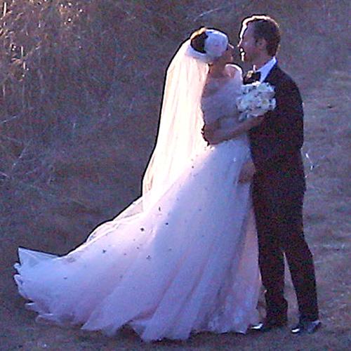 ¡Anne Hathaway y Adam Shulman se han casado!