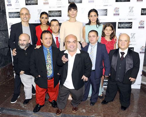 Maribel Verdú, la más bella madrastra, estrena 'Blancanieves' en Madrid