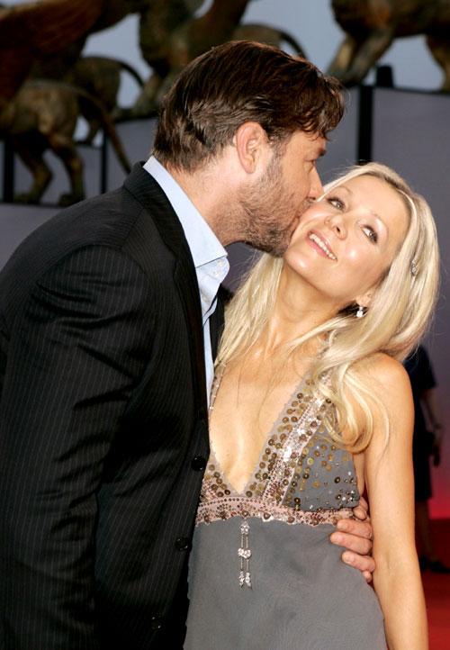 Russell Crowe y Danielle Spencer, entre rumores de separación