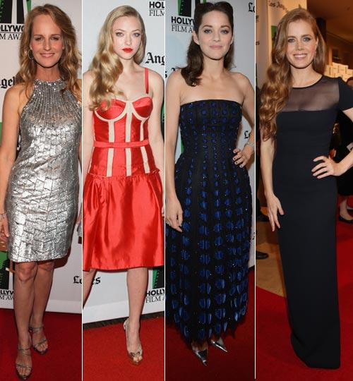 Richard Gere, Amy Adams, Bradley Cooper, Marion Cotillard, Susan Sarandon... estrellas de ayer y de hoy en los premios de Hollywood