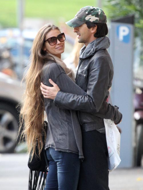 Adrien Brody, enamoradísimo de la modelo Lara Lieto