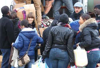 Tras su luna de miel... Jessica Biel y Justin Timberlake muestran su lado más solidario con las víctimas del huracán Sandy