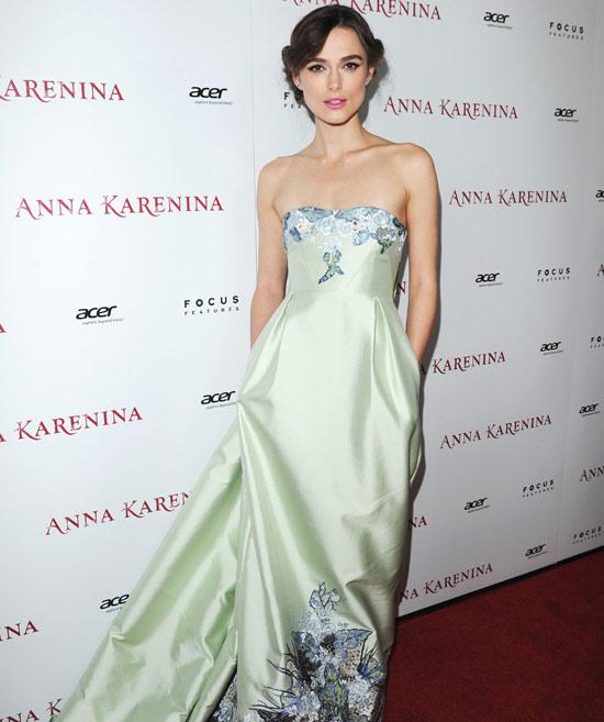 Keira Knightley: 'Todavía no he planeado nada de la boda. He buscado en Internet qué debo hacer'